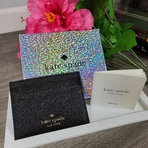 Kate Spade slim card holder with gift box